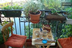 Balcony apartment, Canal St-Martin in Paris.  Ramona, Lydia and I stayed here!