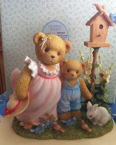 Cherished Teddies Bronte & Gage Find Joy In All Nature's Wonder #4004463 Signed