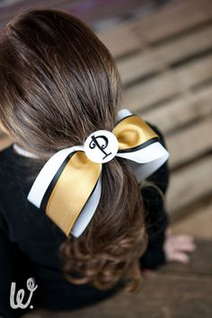 Purdue University  Boilermakers Pony Streamer by PinkPosieCouture, $10.00