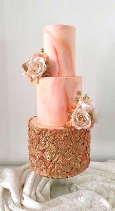 marble wedding cakes These latest wedding cakes are the latest instragram wedding cake trend from fabulous artist cake designers. Whether concrete wedding cake, aged stone wedding cake,. Cookie Cake Birthday, 40th Birthday Cakes, Black Wedding Cakes, Wedding Cakes With Flowers, Gold Wedding, Wedding Cake Centerpieces, Artist Cake, Wedding Cake Designs, Wedding Themes