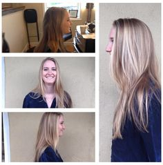 Blonde Balayage done by Sierra Mueller. Beautiful blonde color. #canvasboone #canvasbeautybar #balayage #blondehair