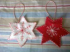 scandinavian fabric stars instructions