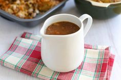 The best homemade vegetarian gravy recipe, with a secret ingredient that adds so much flavour! You won't miss the meat juices!