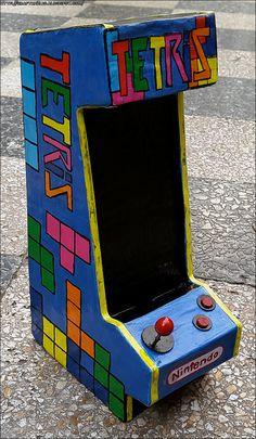 Tetris Arcade Phone Stand