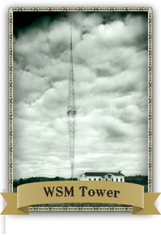 WSM radio tower in Brentwood, TN, THE reason the Opry became so important, and hence the Nashville Music Scene. Still standing, it was the tallest of its kind, and had an enormous amount of wattage. Nashville Music, Nashville Tennessee, Country Life, Country Music, Jimmy Dickens, Tennessee Waltz, Radio Stations, Grand Ole Opry, 2nd City