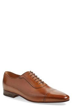 Gucci 'Drury' Cap Toe Derby (Men) available at #Nordstrom