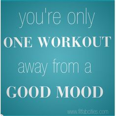 SO true! It's hard to motivate myself sometimes, but I feel so good after I do it.