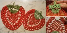 Love to Crochet a Strawberry