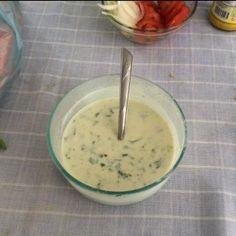 Aderezo Ranch Desert Hummus, Healthy Salads, Healthy Recipes, Healthy Food, Salsa Ranch, Empanadas, Salad Dressing, Deli, Cheeseburger Chowder