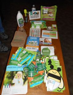 Healthy Baby Home Party kit from seventhgeneration. #gotitfree