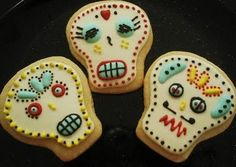 Day of the Dead cookie inspiration