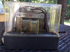 Vintage Zeiss Ikon UNIMAT AFS 180 slide projector made in W. Germany with Trafo