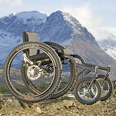 Off-road wheelchair.