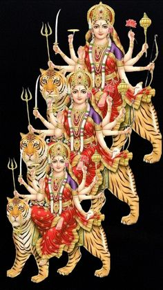 Maha Maya Durgai 💫ॐ.....z❤️NSpiceC🌶🦋15April2019~*💕 ⭐️ Maa Durga Photo, Maa Durga Image, Durga Kali, Shiva Hindu, Shiva Art, Durga Images, Lakshmi Images, Lakshmi Photos, Maa Image