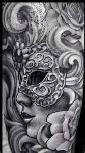 Yahoo! Image Search Results for masquerade tattoo
