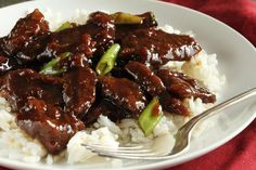 P. F. Chang's Mongolian Beef. Photo by Delicious as it Looks