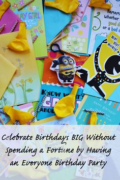 Do you have that month in your family where EVERYONE has a birthday?! This is a totally brilliant, fun idea that will save a ton of time and money--why didn't I think of it sooner?! #SendSmiles Ad