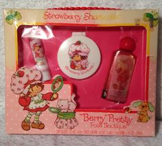 Extremely RARE Strawberry Shortcake Berry Pretty Face Boutique in Box | eBay