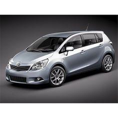 Toyota Verso -Corolla Verso2010 - 3D Model