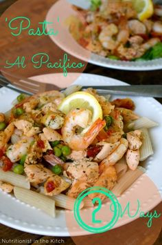 'Pasta' Al Pacifico : 2 Ways! (Gluten Free/Low Carb option) ….& Fave Five Friday: Healthy 'Pasta' Dishes