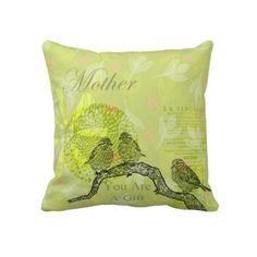 Inspired Birds Mother Pillow
