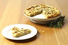 Torta de Maçã, Gorgonzola e Tomilho