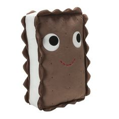 YUMMY Ice Cream Sandwich Plush, $25, now featured on Fab.
