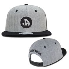 2af54987d7335 Jason Aldean Flat Brim Logo Hat