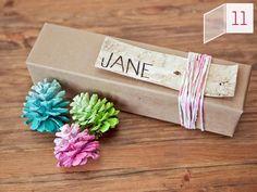 Countdown to #Christmas: Creative Gift Wrap Ideas (http://blog.hgtv.com/design/2012/12/14/countdown-to-christmas-creative-gift-wrap-ideas/?soc=pinterest)