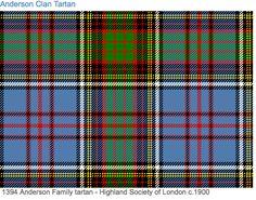 Anderson Clan Tartan