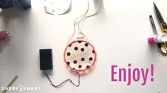 Make A Light Up Embroidery Hoop