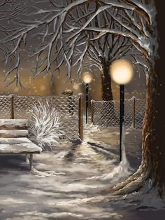 Winter Trilogy 3 Print By Veronica Minozzi