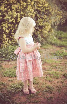 NEW The Scarlett Dress PDF Pattern Size 0 1 2 by GracieMayPatterns