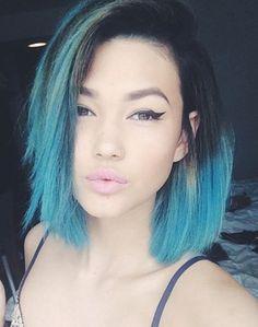 Asami Zdrenka. #blue