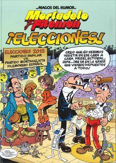 """""""Mortadelo y Filemón: ¡Elecciones!"""" F. Ibáñez"""