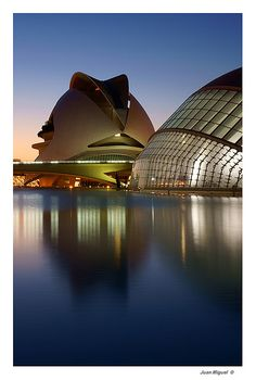 CAC - City of Arts and Sciences of Valencia, Spain