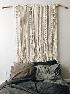 Macrame Tapestry by @bonfireheart.co