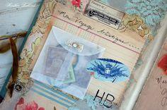 Glassine envelope for ephemera storage - Heather Bullard's Art Journal
