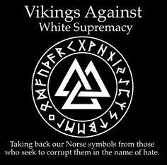I'm not norse, but I do have Viking blood in me. Let's take our ancestors' sacred symbols back!