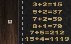 Operaciones numéricas muy lógicas #gimnasiamental