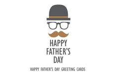 Happy Father's Day Greeting Cards in vector #fathersday download: https://creativemarket.com/whynot/200301-11-Happy-Fathers-Day-Greeting-Cards?u=ksioks