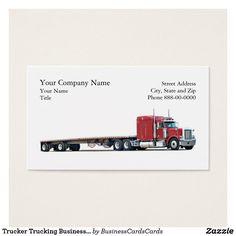 20 best trucker truck driver business cards images on pinterest trucker trucking business card colourmoves