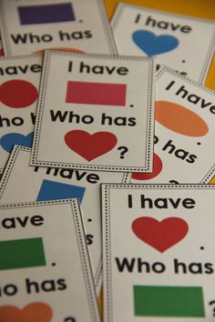 Practice shape names with a fun game