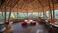 In the green jungles of Bali, outside the town of Ubud, there's a village of 18 homes constructed almost entirely out of bamboo. From a distance they look like jungle huts, but these are far from it. The Green Village combines ... Read More