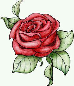 Dubujo de rosa