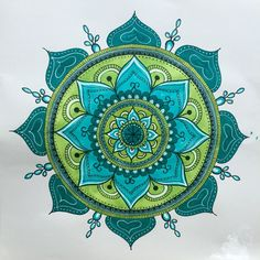 100 Days of Mandalas day 35. This one will be used in an upcoming project soon. #mandala