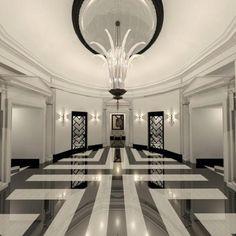 Marble Floor Design - Home Flooring Ideas Floor Design, Tile Design, House Design, Arte Art Deco, Modern Floor Tiles, Granite Flooring, Tile Flooring, Entry Hallway, Modern Hallway