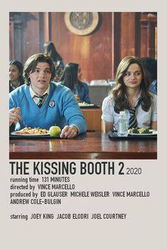 Kissing Booth 2 Minimalist Film Polaroid Poster