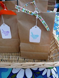 simple and sweet goodie bags