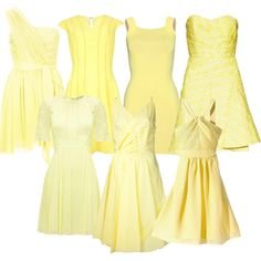 """Yellow"" by orban-betty on Polyvore"